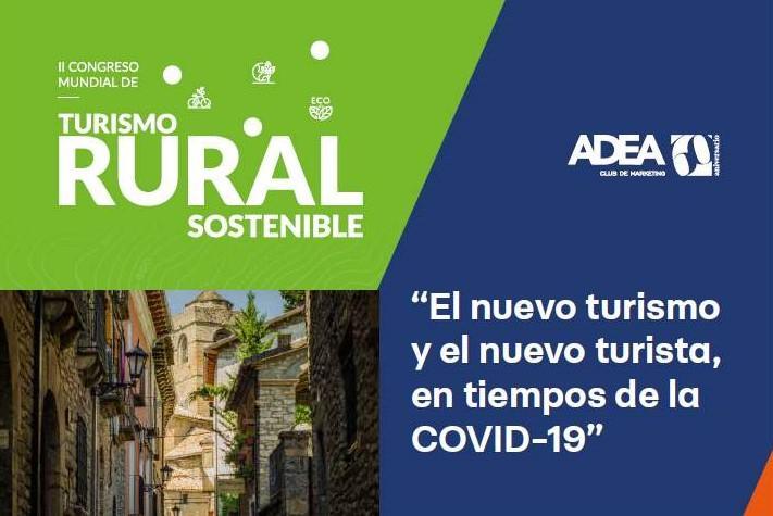 Cartel Congreso Turismo Rural Comtur 2020