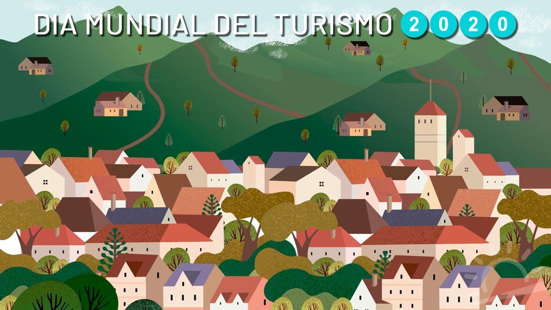 ilustración turismo rural